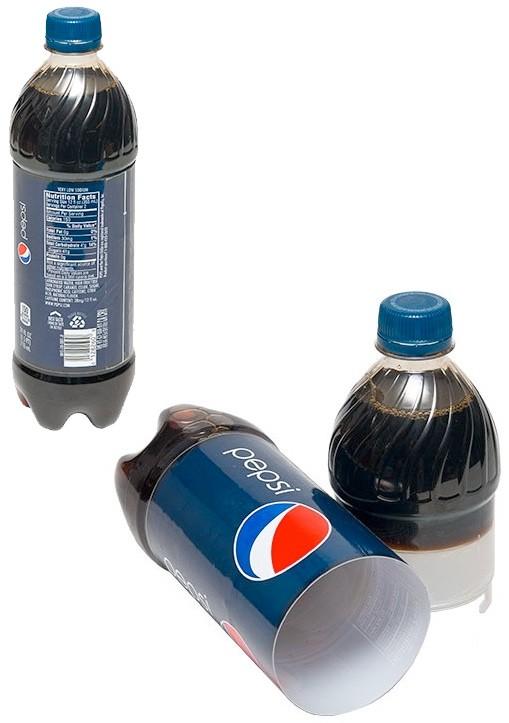 Botella Ocultación sabor Cola