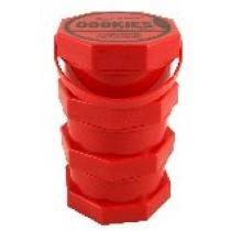 Bote Cookies modelo tarro rojo