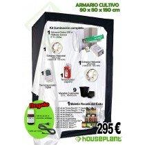 Kit de cultivo completo 80x80x180 cms