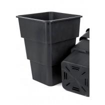 Maceta Negra Air Max Pot
