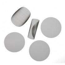 Filtro de de acero para resinas y concentrados de 25mm, 5 unidades