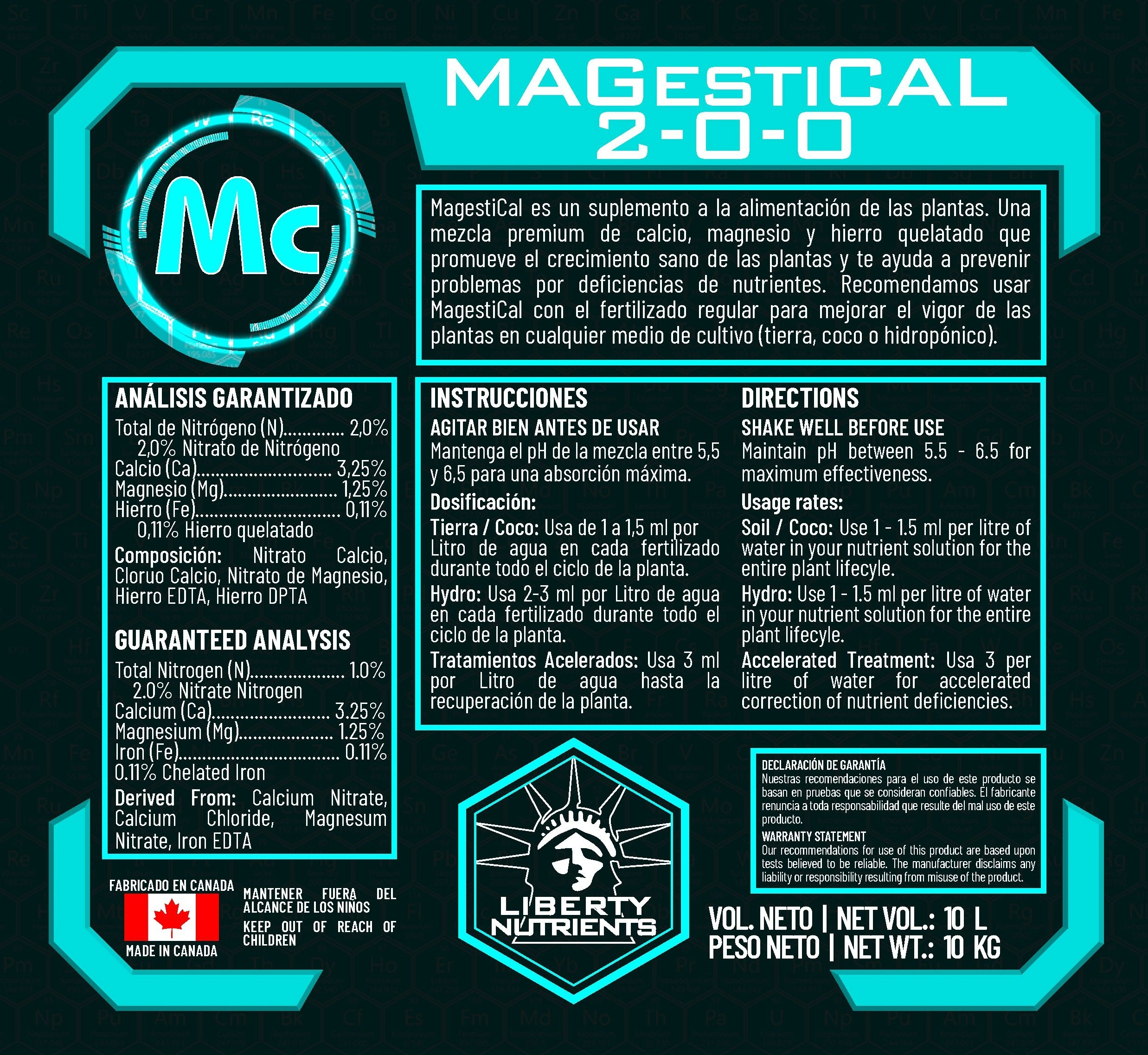 Magestical - Liberty Nutrients