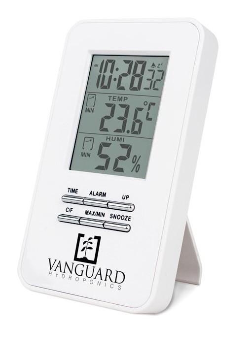 Termohigrometro Digital Vanguard Hydroponics