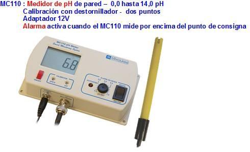 Medidor EC continuo Milwaukee MC310