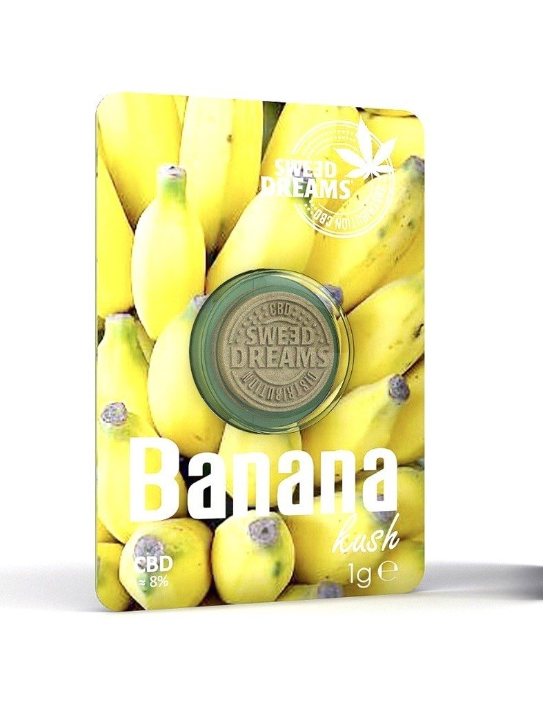Moneda Hash Banana CBD - Sweed Dreams
