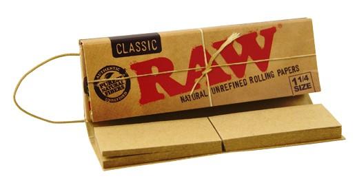 Papel Raw Connoisseur 1 ¼ Classic (papel + tips)