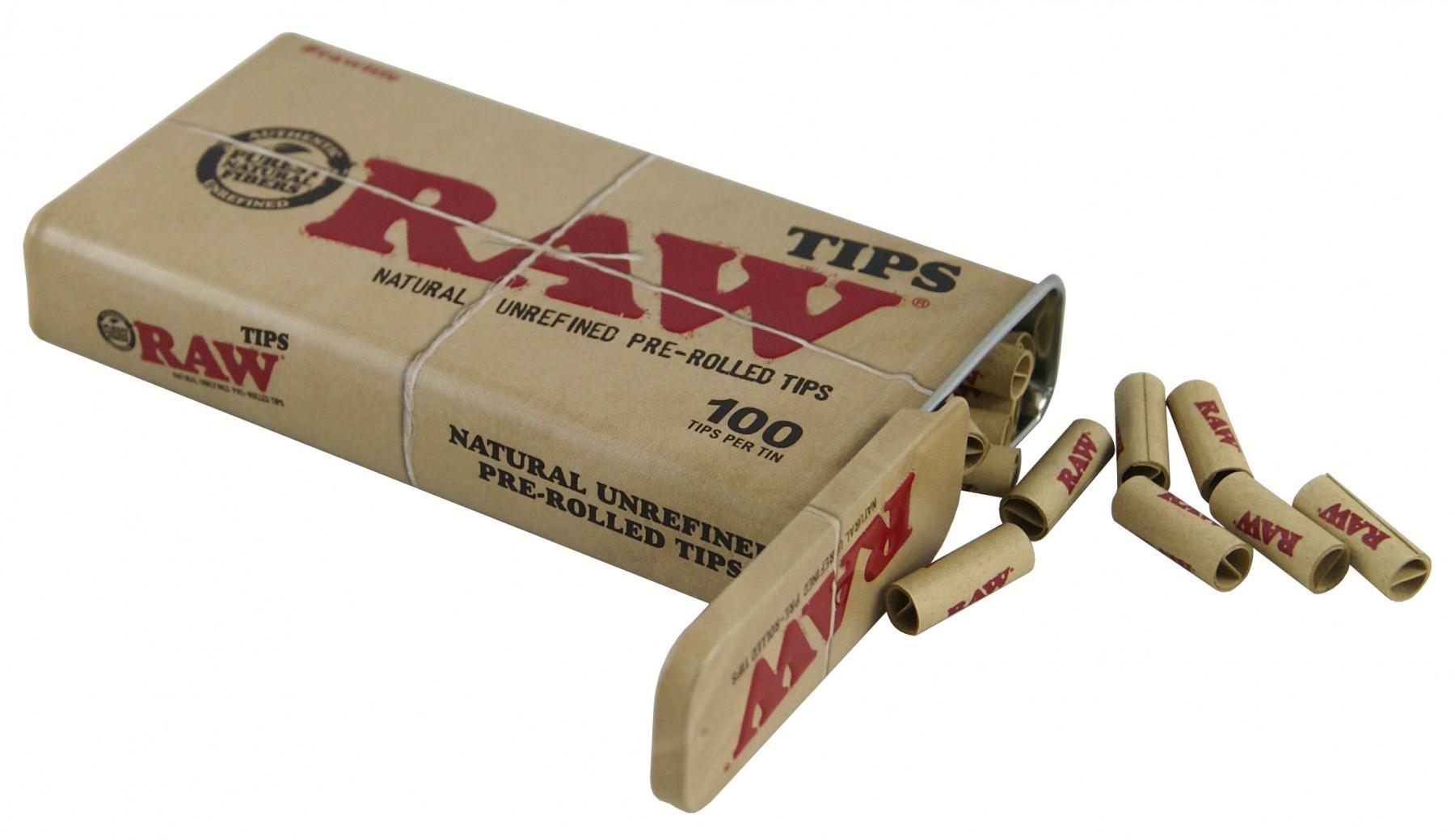 Raw Filtros Prerolled Classic - cajita