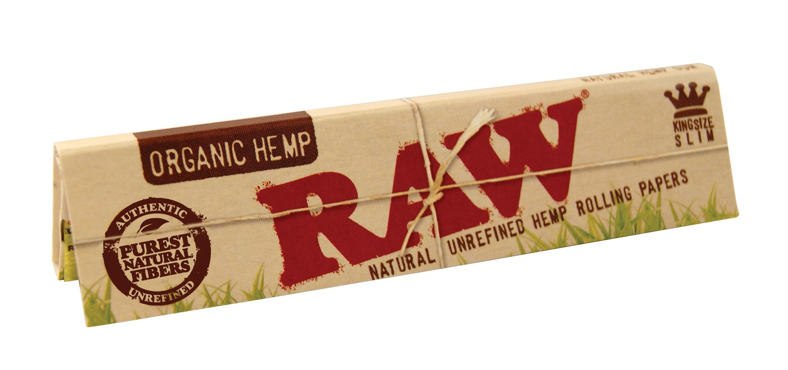 raw organic king size