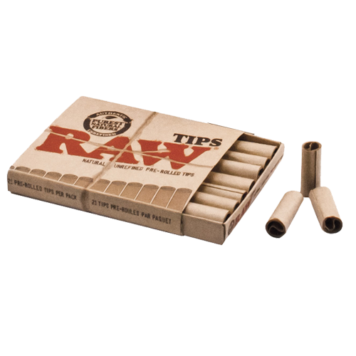 Filtros Raw Pre-rolled (Papel Raw)