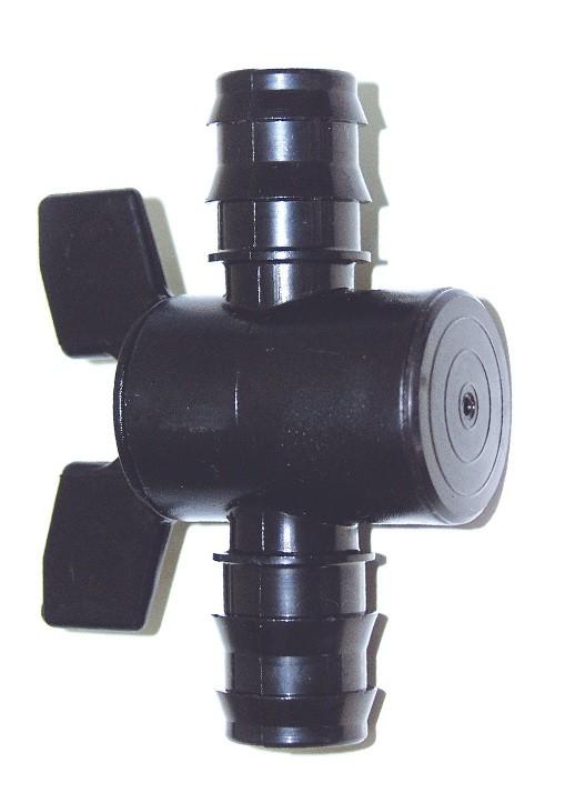 Válvula paso total (25 mm) pe