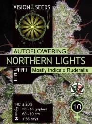 Northern Lights Auto – Vision Seeds