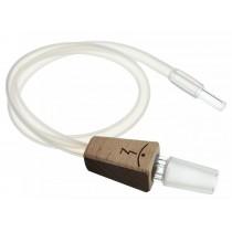 Latiguillo de aspiración con adaptador 14mm para vaporizadores Magic-Flight y Muad'Dib