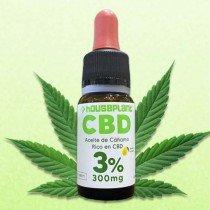 Aceite de CBD 3% de pureza de Houseplant CBD