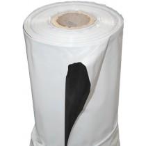 Plástico Reflectante Blanco/Negro