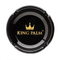 Cenicero King Palm Negro