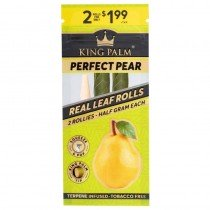 King Palm Perfect Pear - 2 Rollos (0,5gr)