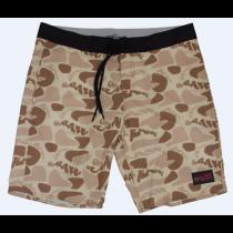 Pantalones cortos beige camuflaje de Raw maxima calidad