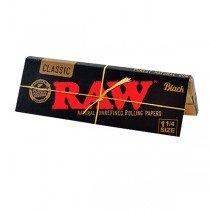 papel fumar raw negro