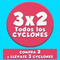 3X2 Cyclone Clear