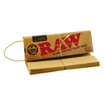 Papel Raw Connoisseur 1 ¼ Classic (papel + tips)