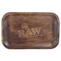papel fumar raw bandeja madera