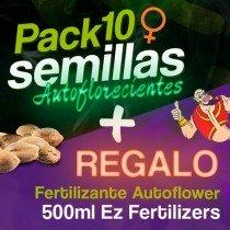 Regalo Autoflower + 10♀ Houseplant Seeds Autoflorecientes