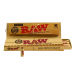 Papel Raw Connoisseur Pre-rolled King Size Classic (papel + tips pre-rolled)